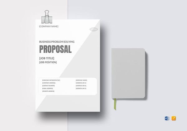business-problem-solving-proposal-template