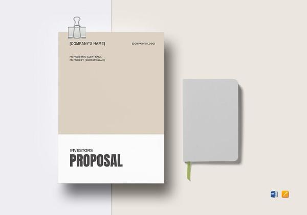 business proposal for investors pdf