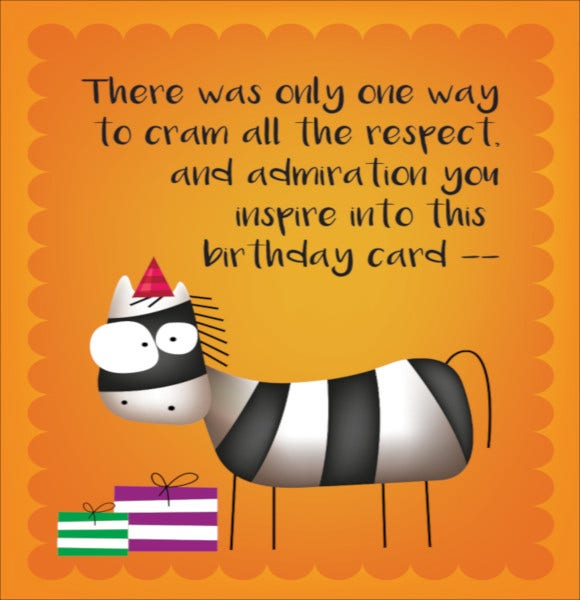cute cartoon animals happy birthday card