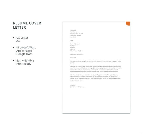 electrician-resume-cover-letter-template
