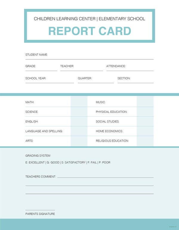 simple expense report