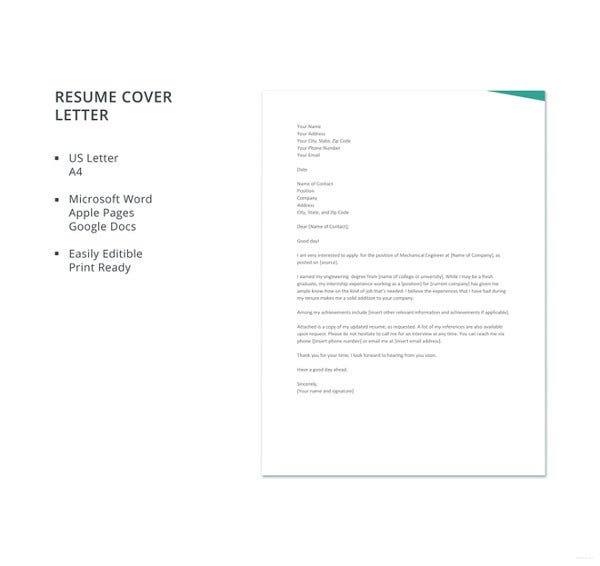 fresher-mechanical-engineer-resume-cover-letter-template