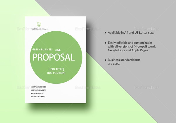 business proposal template - 28+ free word, pdf, psd documents, Presentation templates