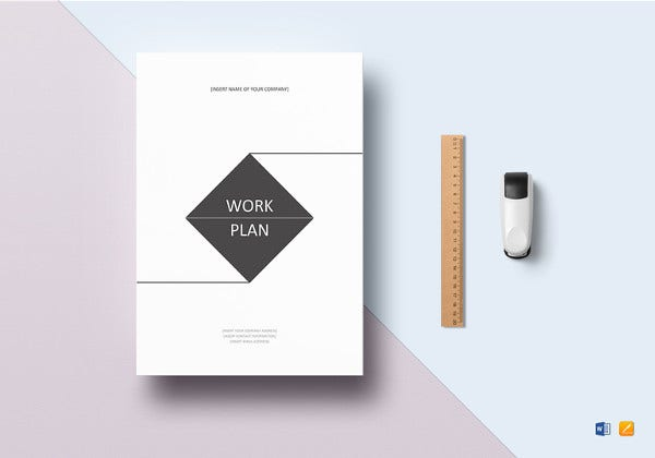 simple-work-plan-template