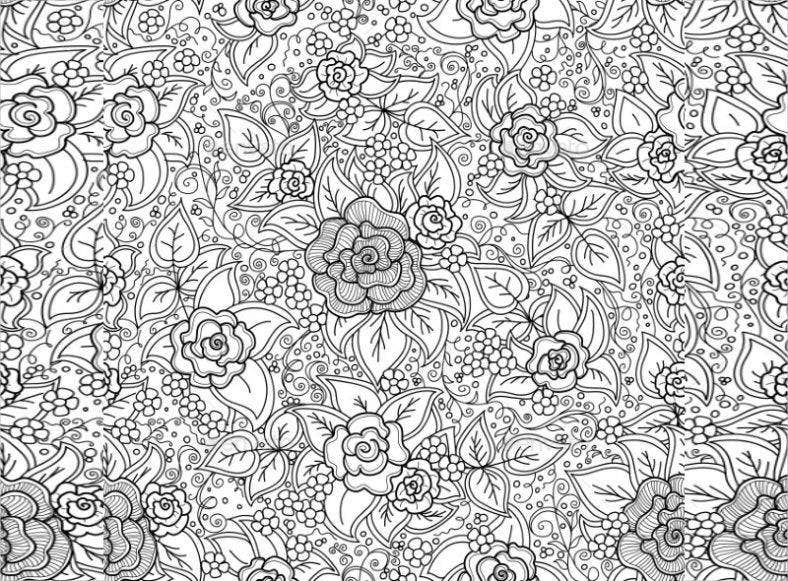 traditional zentangle pattern 788x581