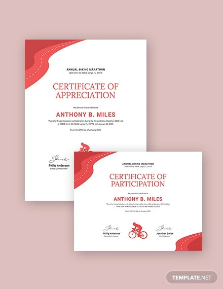 bike riding certificate1
