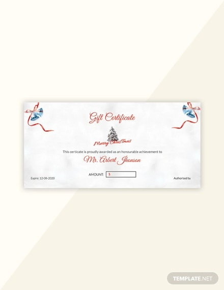 free simple merry christmas gift