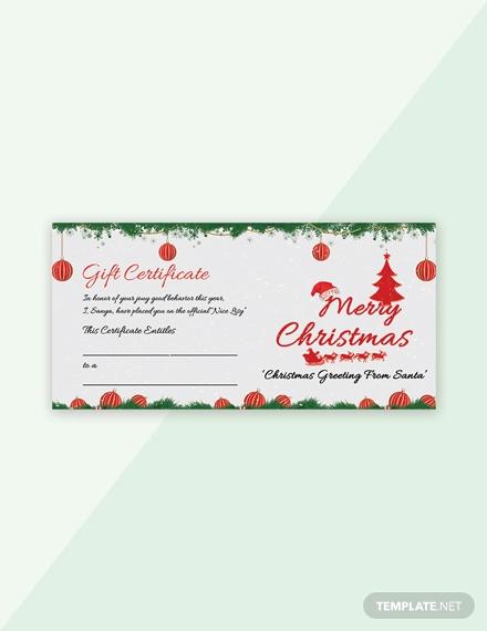 free snowflake christmas gift