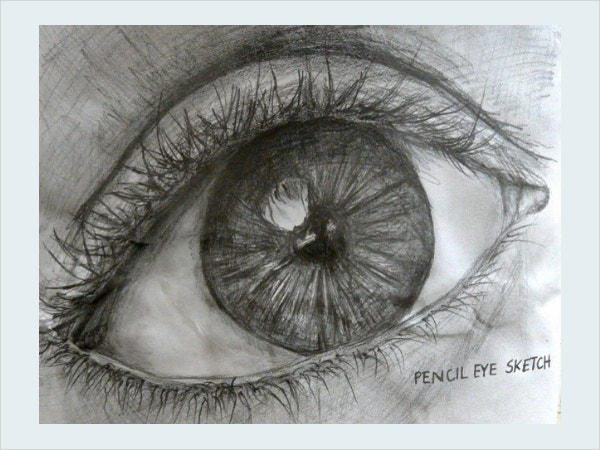 Observational Drawing of an Eye