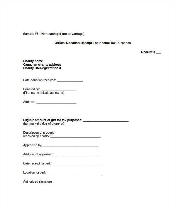 Receipt Template 10 Free Word Pdf Documents Download Free
