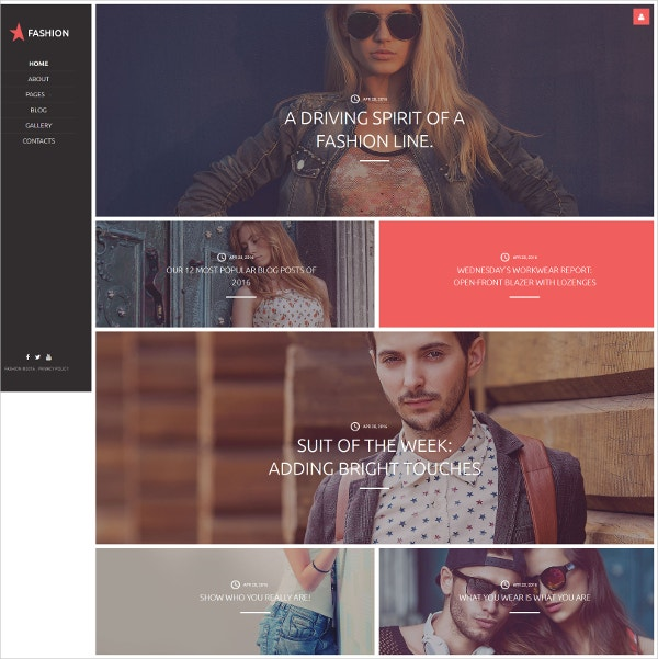 Fashion Clothes Joomla Website Template $75