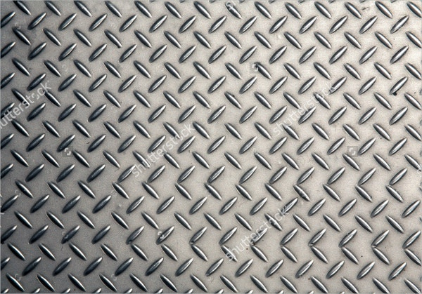 Seamless Steel Diamond Plate Texture