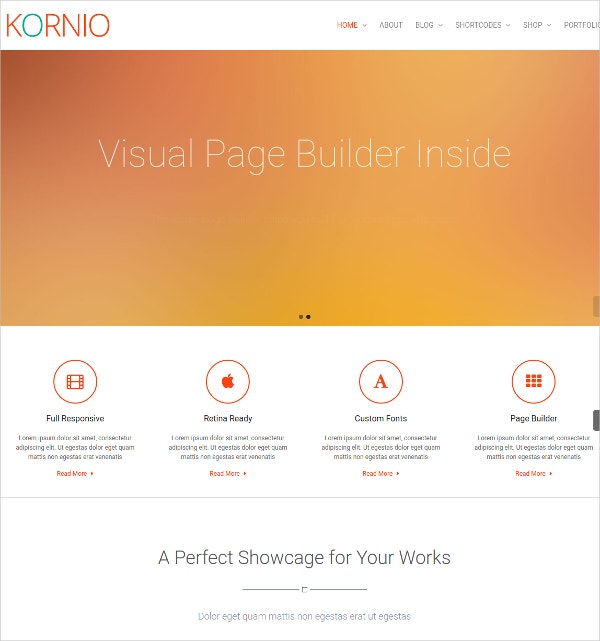 Multipurpose Personal WordPress Website Theme $44