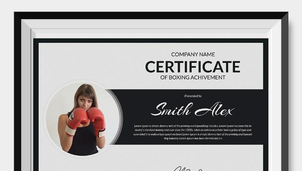 boxingcertificatetemplate