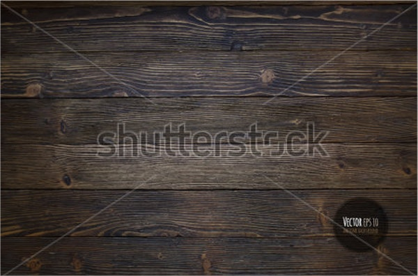 Natural Dark Wooden Texture Design