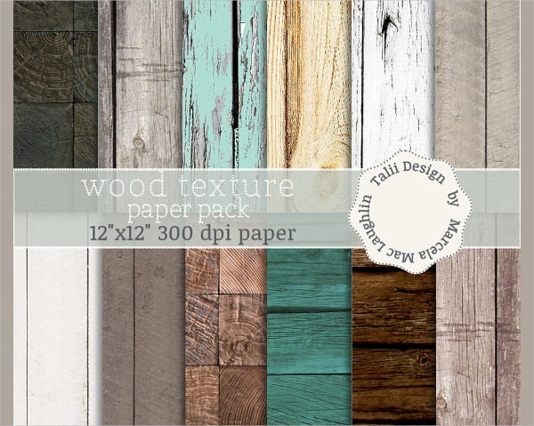 Distressed Wood Paper Texture