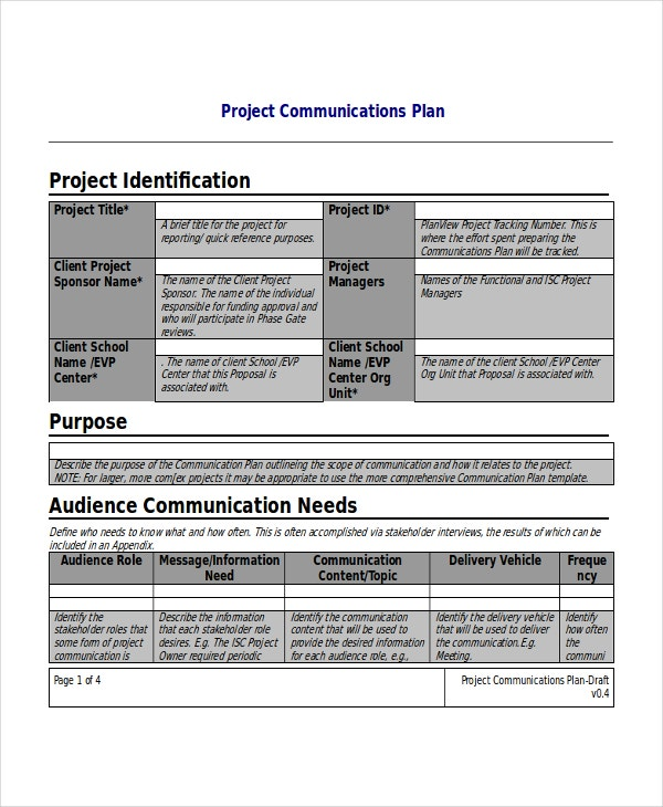 Project Plan Template 10 Free Word Pdf Document Downloads Free Premium Templates