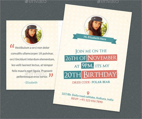 printable birthday postcard template