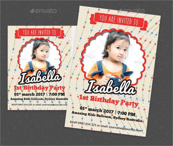printable birthday post card and invitation card1