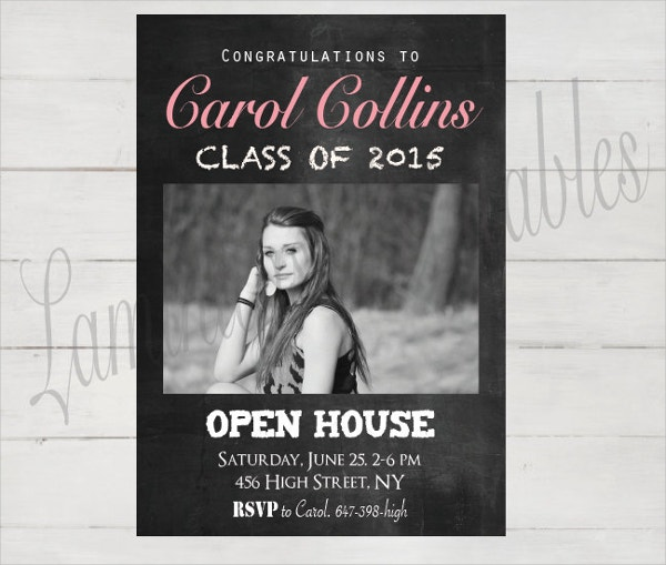 Printable Graduation Party Invitation Template