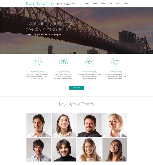 Bootstrap Responsive Photo Gallery Template $139