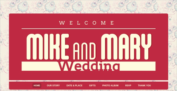Wedding Retro Photo Gallery Bootstrap Theme $16