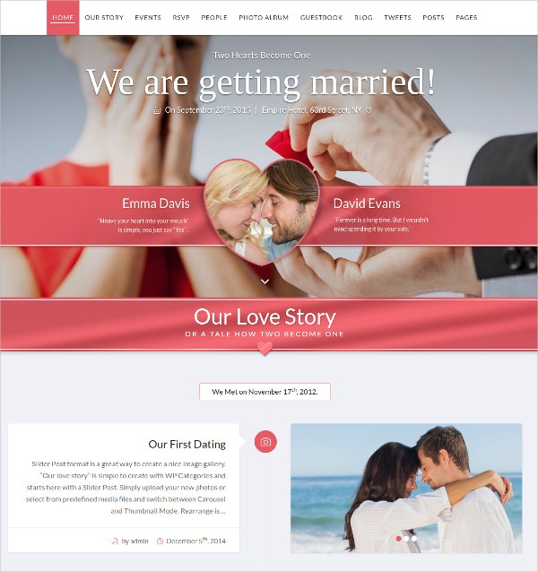 wordpress website wedding theme 44