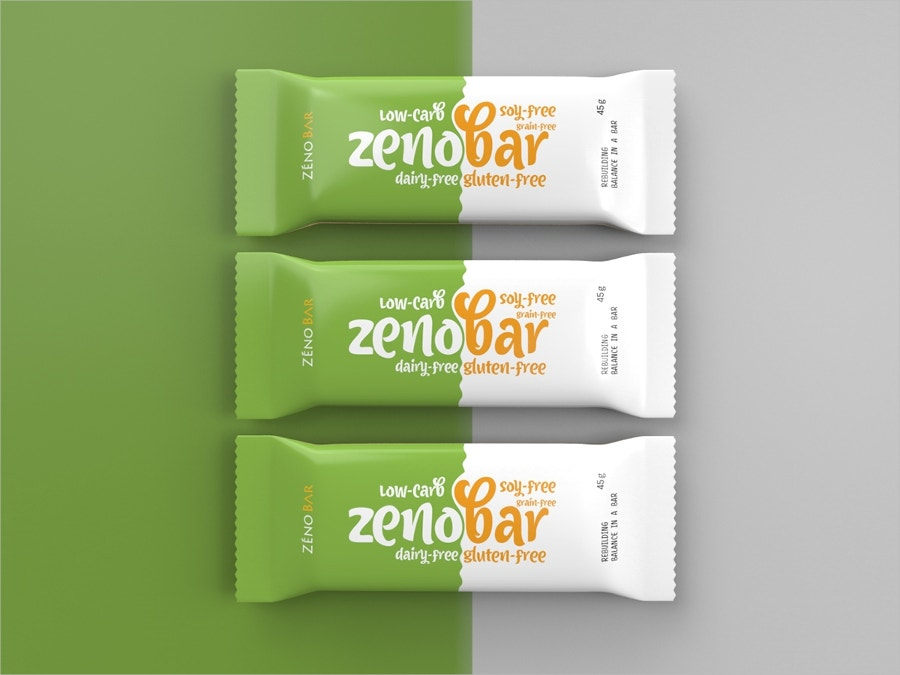 Zenobar Chocolate Packaging