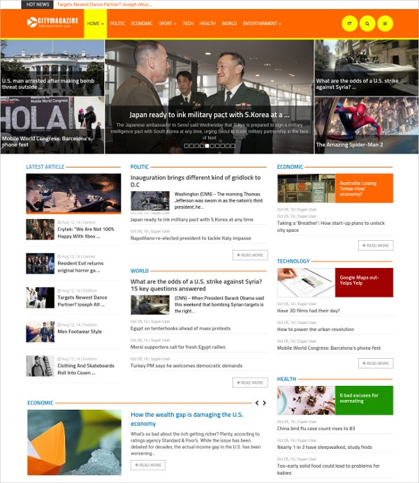 awesome joomla magazine theme 48