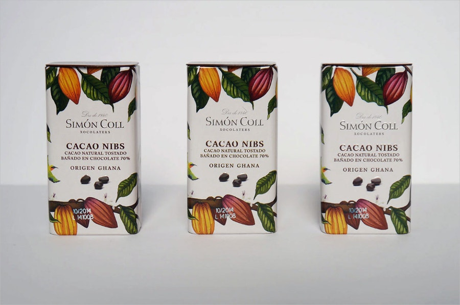 Simon Coll Chocolate Packaging