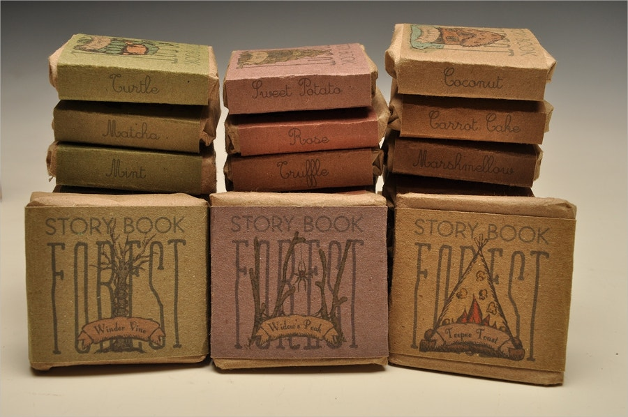 forest chocolate packaging