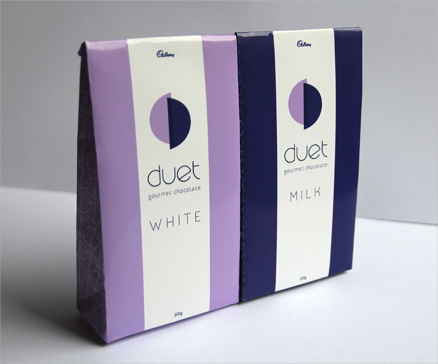 Duet Chocolate Packaging
