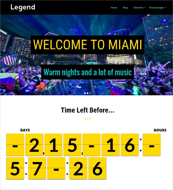Radio Station & Nightclub WordPress Theme $39
