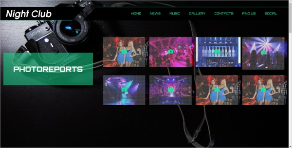 Radio Station & Nightlife WordPress Website Theme $39