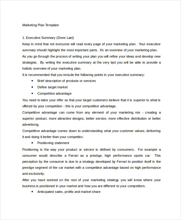 Customer Analysis Template - 8+ Free Word, PDF Documents Download ...
