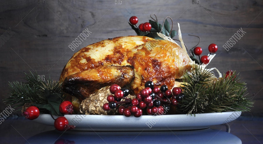 Scrumptious Roast Turkey Chicken