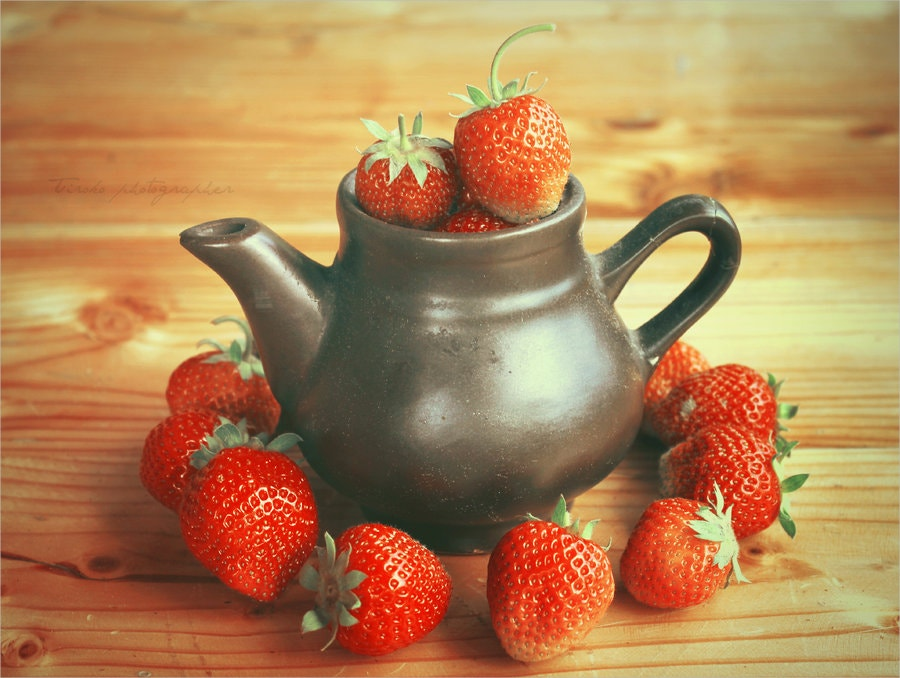 strawberry season photography