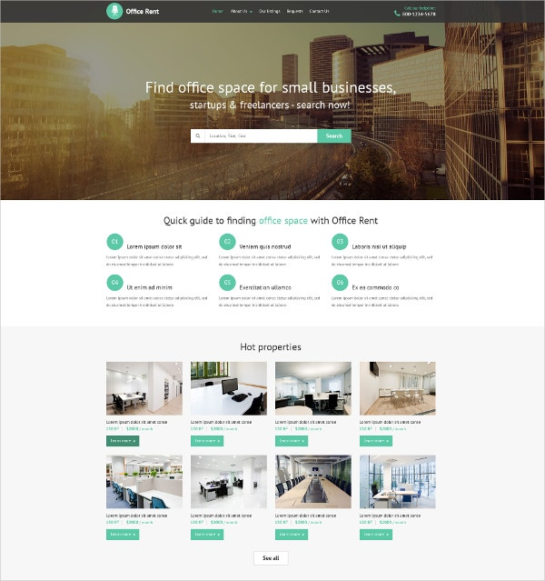20+ Real Estate Website Themes & Templates | Free & Premium Templates
