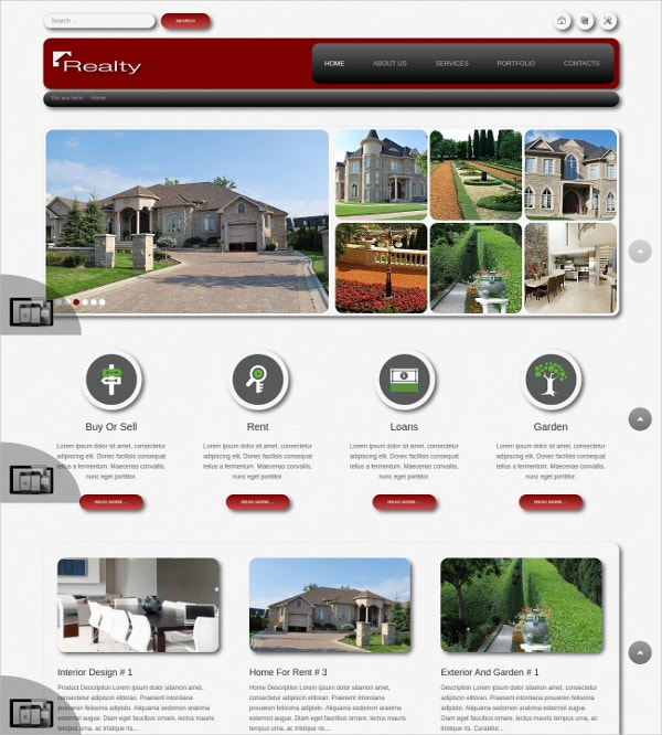 amazing business realtorjoomla website theme 29