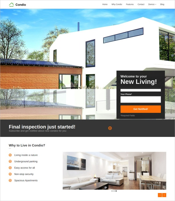 single property apartment real estate wordpress theme 441