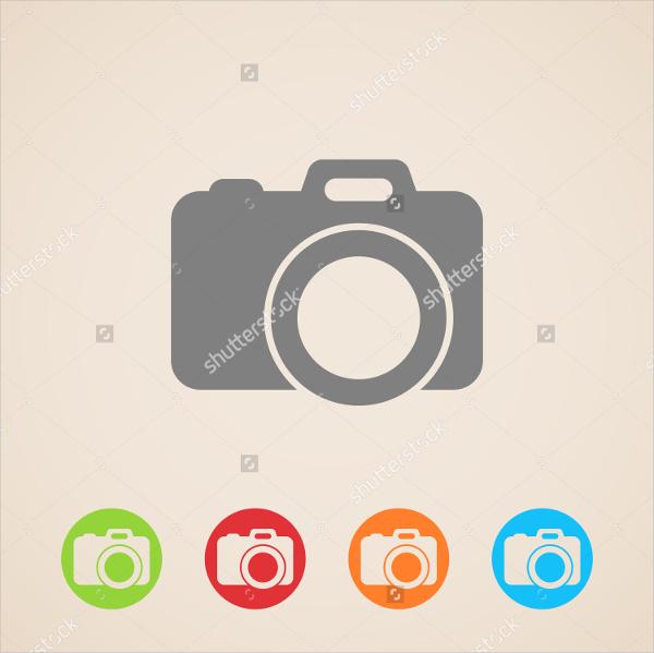 security vector camera icon