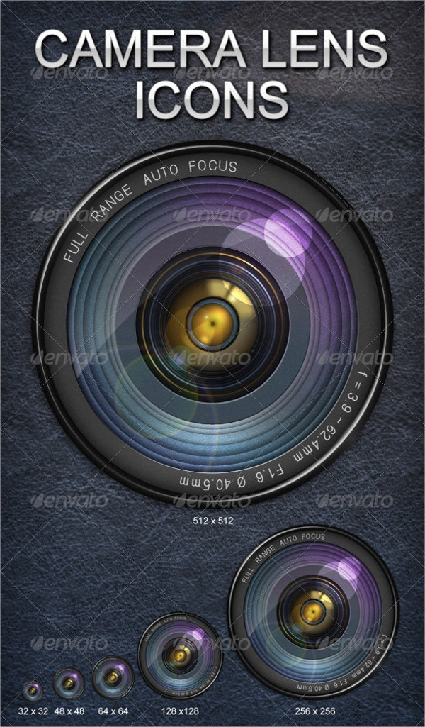 Splinesecector Camera Icon Lens