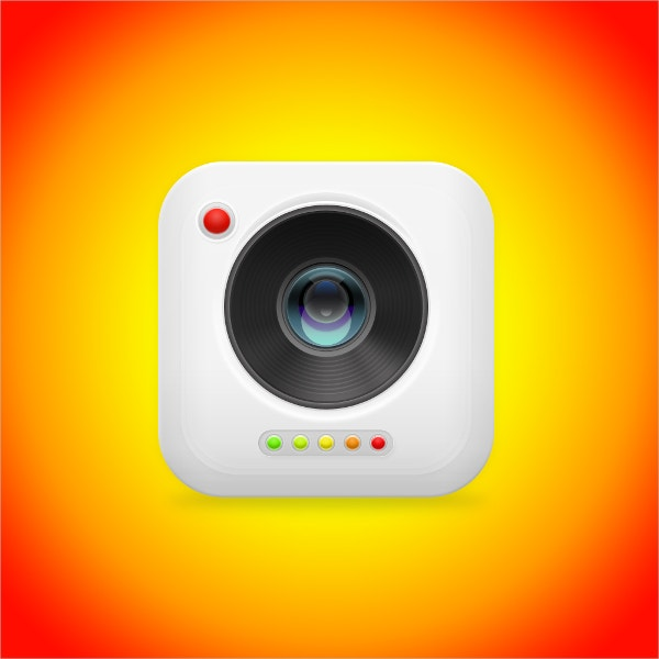 Digital Art Camera Icon