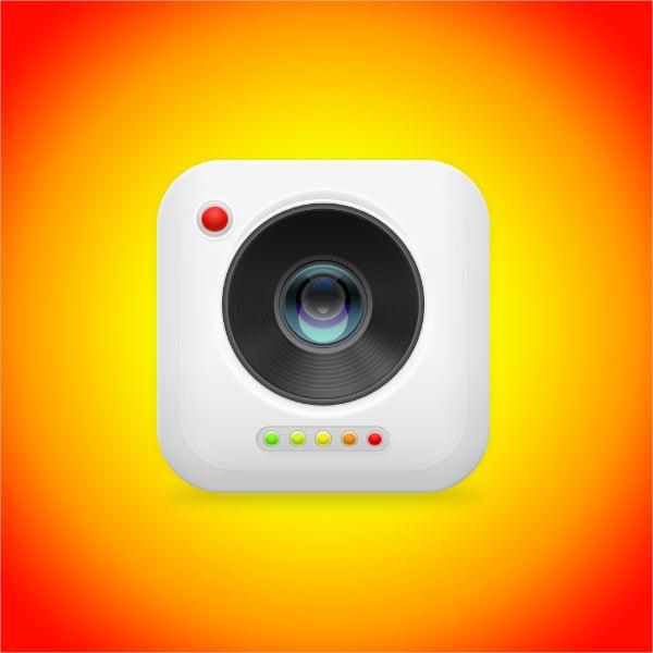 digital art camera icon