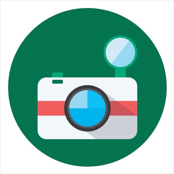 multimedia camera icon