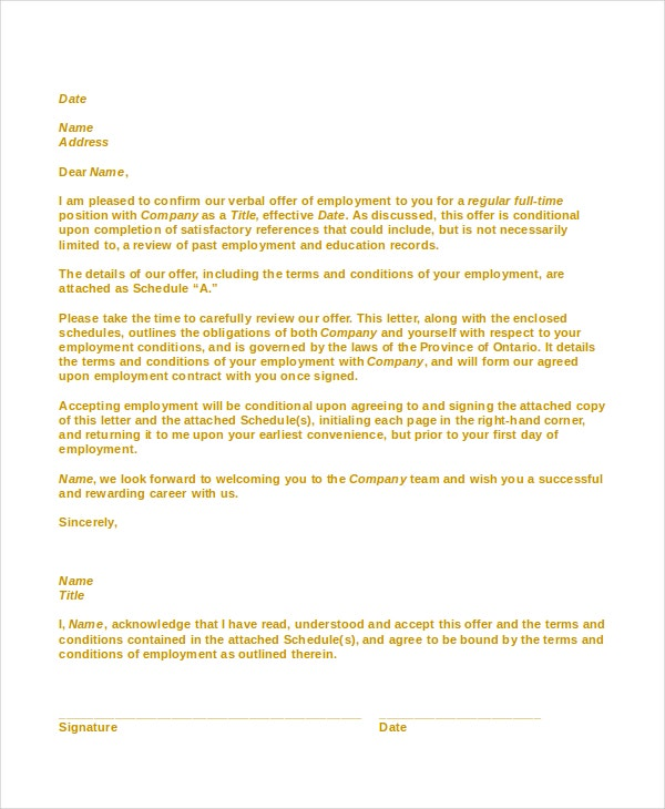 Welcome Letter Template New Customer