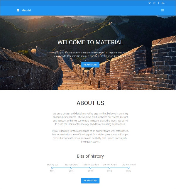 Photography HTML5 Website Template $9