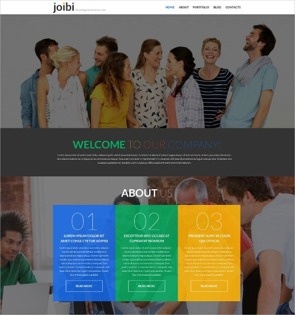 business services one page wordpress website theme 75