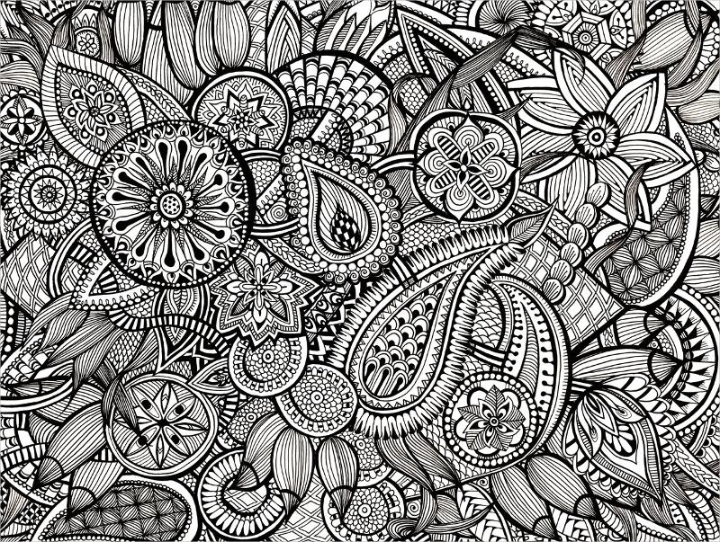 30+ Zentangle Patterns | Free & Premium Templates