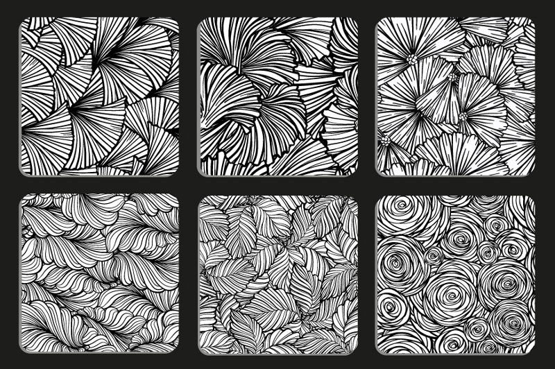 6 Zenatagle Patterns